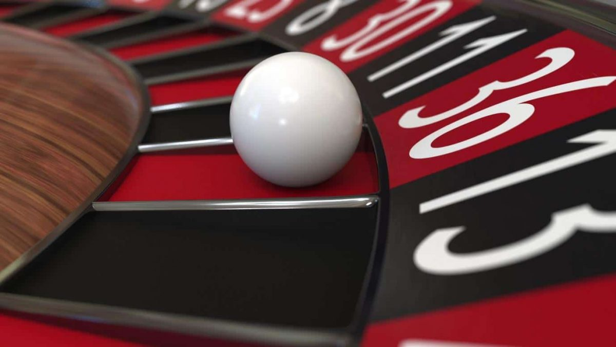 ball in roulette