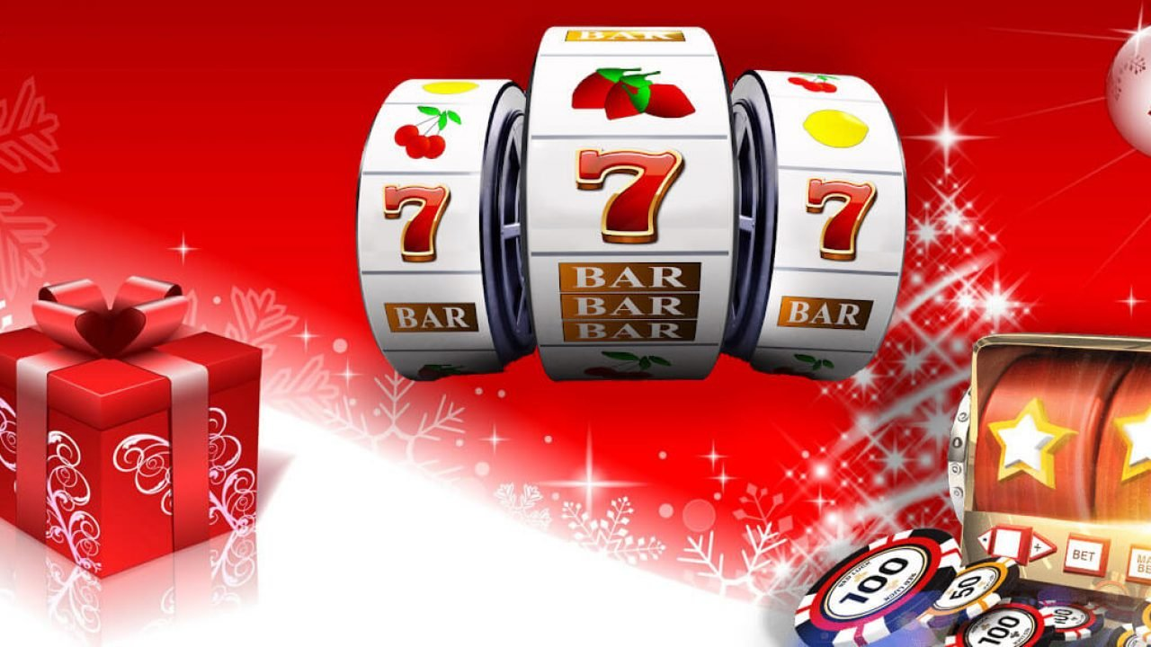 Simply having wonderful Christmas time with free casino slots